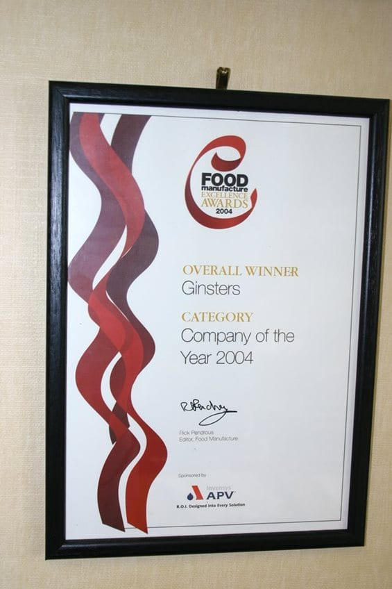 UK Food Company of the Year