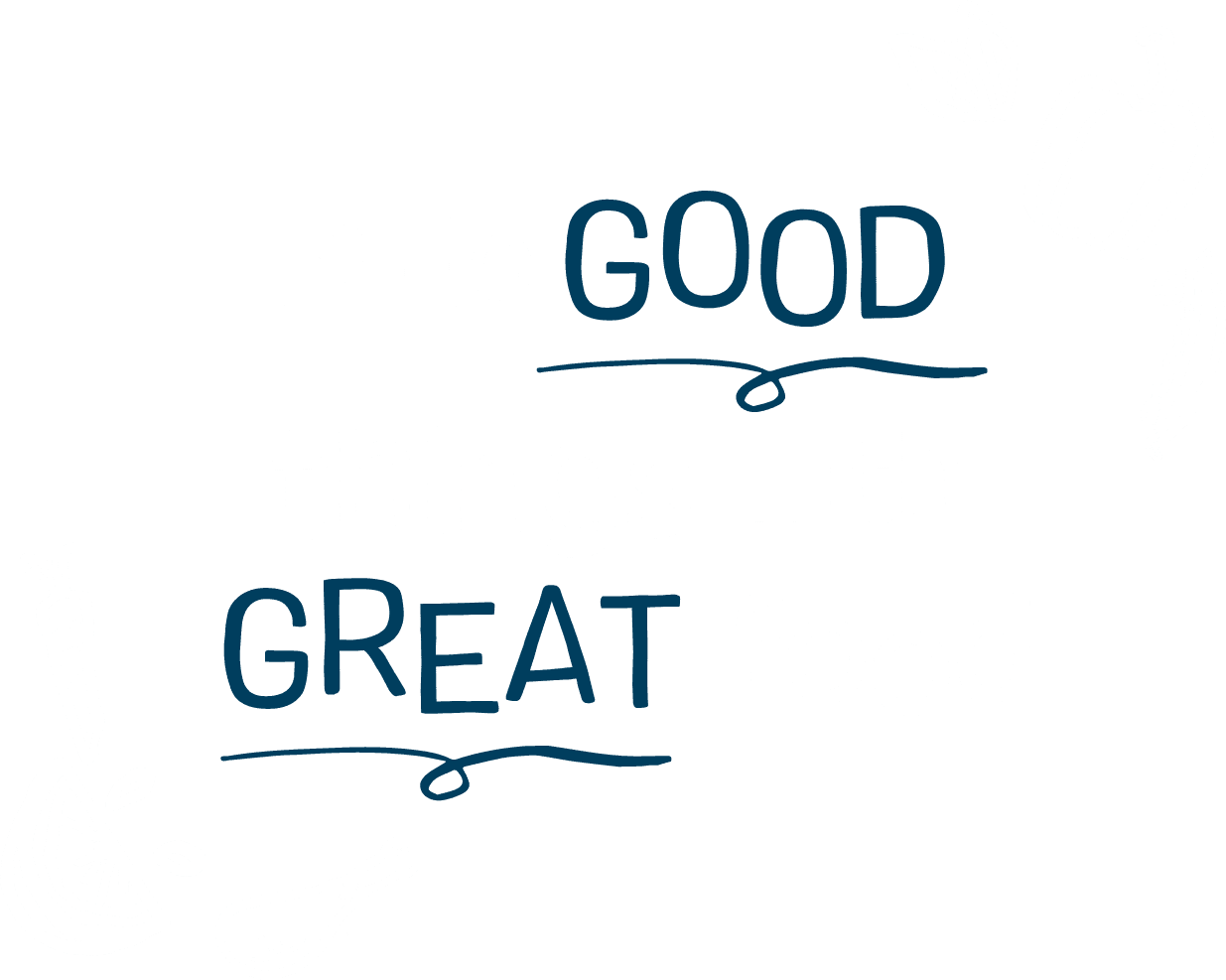 We do good things with great food