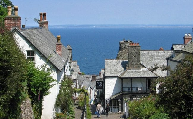 Clovelly's New Inn lies in the heart of the village