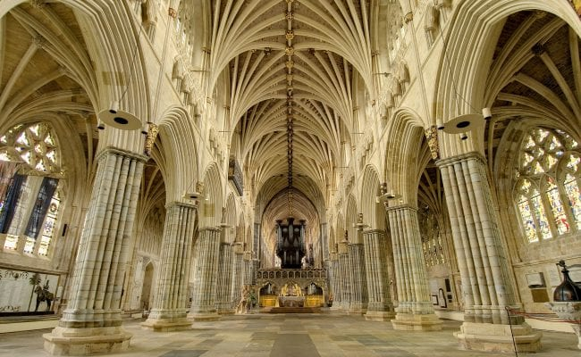 Exeter Cathedral Devon