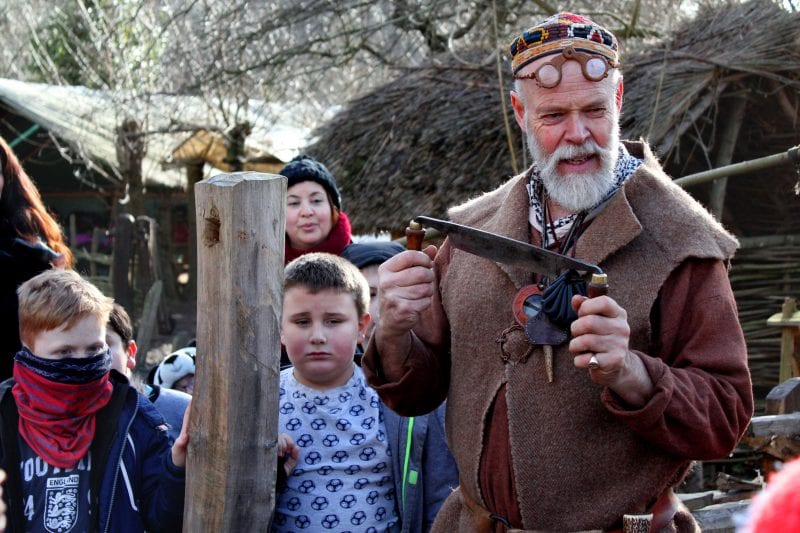 Activities in the authentic Saxon Village